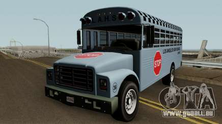 Vapid School Bus Los Angeles v1.0 GTA V für GTA San Andreas