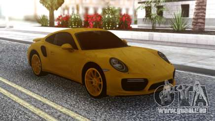 Porsche 911 Yellow für GTA San Andreas