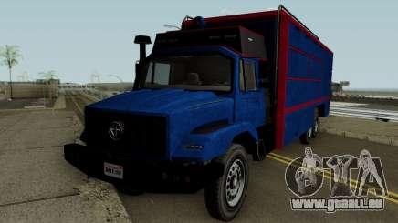 Benefactor Terrorbyte GTA V für GTA San Andreas