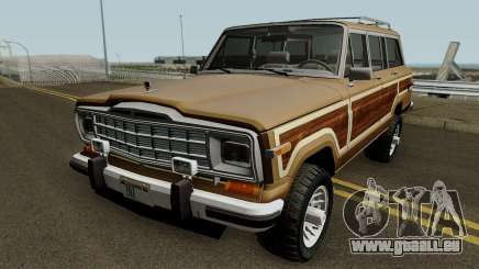 Jeep Grand Wagoneer 1986 pour GTA San Andreas