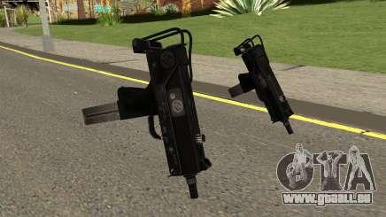 MAC-11 Black für GTA San Andreas
