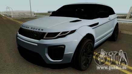 Land Rover Range Rover Evoque HQ für GTA San Andreas