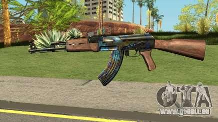 AK-47 Case Hardened für GTA San Andreas