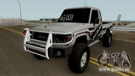 Toyota Land Cruiser 79 2018 pour GTA San Andreas