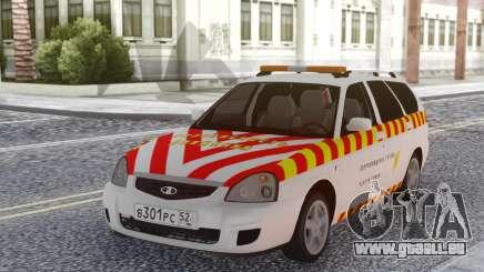 Lada Priora Escorte de marchandises dangereuses pour GTA San Andreas