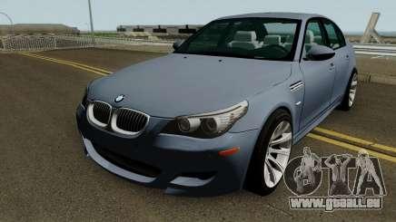 BMW M5 E60 HQ für GTA San Andreas