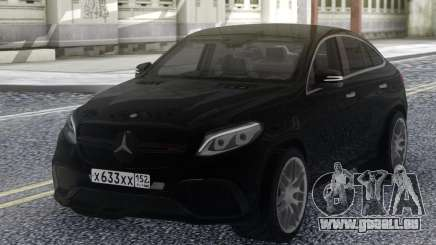 Mercedes-Benz GLE 63 4MATIC AMG pour GTA San Andreas