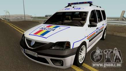 Dacia Logan MCV - Politia Romana 2004 für GTA San Andreas