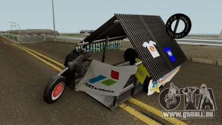 Vespa Extreme Sampahan V2 pour GTA San Andreas