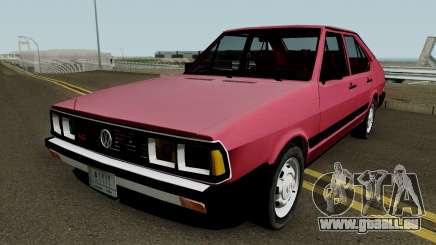 Volkswagen Passat Pointer LSE Iraque 1984 V2 für GTA San Andreas
