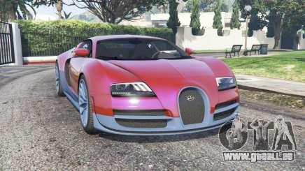 Bugatti Veyron Super Sport 2010 v2.0 [replace] pour GTA 5