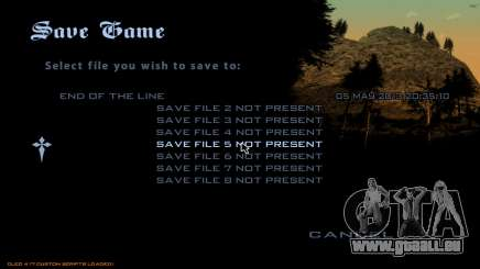Fast Save für GTA San Andreas