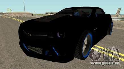 Chevrolet Camaro ZL1 2012 Drift 1.0 pour GTA San Andreas