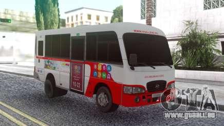 Hyundai County Ver 2 pour GTA San Andreas