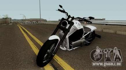 Western Motorcycle Nightblade GTA V pour GTA San Andreas