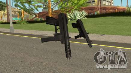 Tec9 HQ (With HD Original Icon) für GTA San Andreas