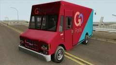 Brute Boxville GTA V für GTA San Andreas