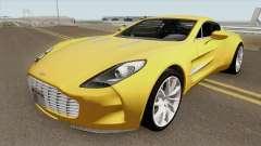 Aston Martin One-77 HQ pour GTA San Andreas