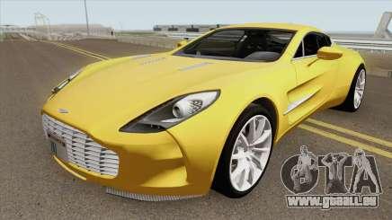 Aston Martin One-77 HQ für GTA San Andreas