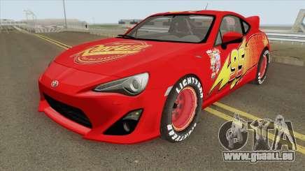 Toyota GT86 Mcqueen 2012 pour GTA San Andreas