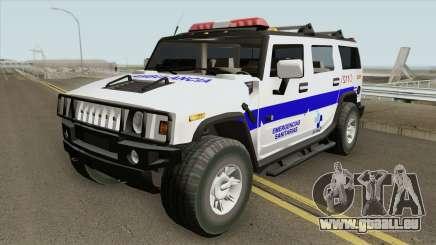 Hummer H2 Ambulance pour GTA San Andreas