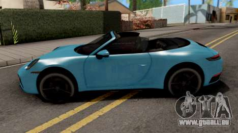 Porsche 911 Carrera 4S Cabriolet 2020 pour GTA San Andreas