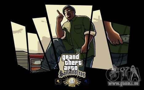 GTA SA Laden Bildschirme - 15 Jahre Jubiläum für GTA San Andreas
