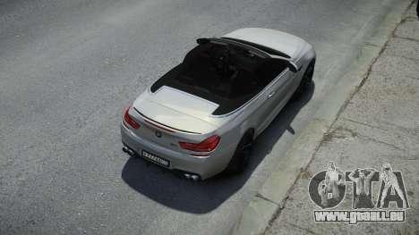 BMW M6 Convertible pour GTA 4