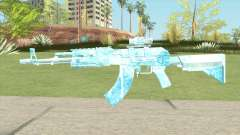 AK47 Glacier (Ice Scope) für GTA San Andreas