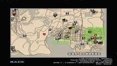 RDR2 Map Styled für GTA San Andreas
