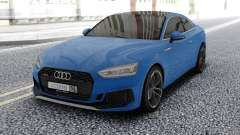 Audi RS5 Blue für GTA San Andreas