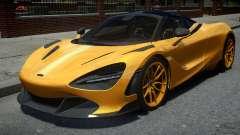 McLaren 720S Vorstiener Silverstone 2018 pour GTA 4