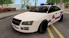 Obey Tailgater 2012 Hometown PD Style pour GTA San Andreas