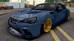 Subaru BRZ 2014 Aimgain Custom für GTA San Andreas