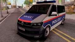 Volkswagen Transporter T6 Osterreich Polizei pour GTA San Andreas