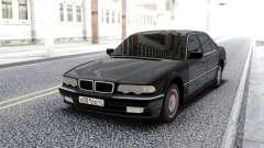 BMW 750i E38 Black Sedan pour GTA San Andreas