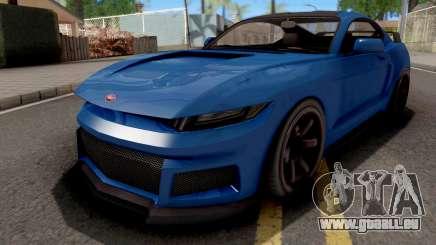 GTA V Vapid Dominator GT350R für GTA San Andreas