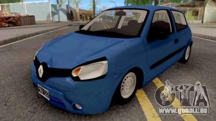 Renault Clio Mio Blue für GTA San Andreas