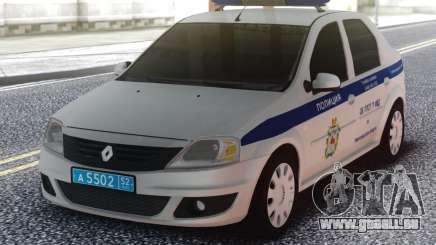 Renault Logan Moi pour GTA San Andreas