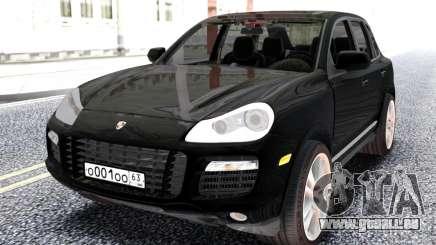 Porsche Black Cayenne für GTA San Andreas