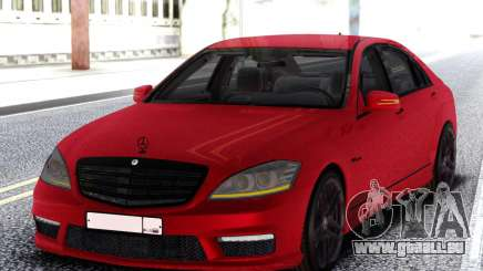 Mercedes-Benz S65 AMG Red pour GTA San Andreas