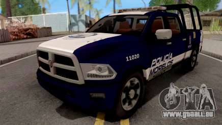 Dodge Ram 2500 Police IVF für GTA San Andreas