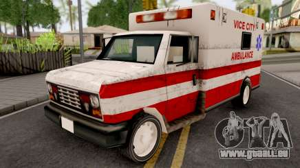 Ambulance from GTA VCS für GTA San Andreas