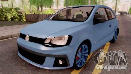Volkswagen Gol Trend Blue für GTA San Andreas