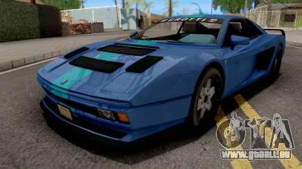 GTA V Grotti Cheetah Classic Coupe IVF für GTA San Andreas