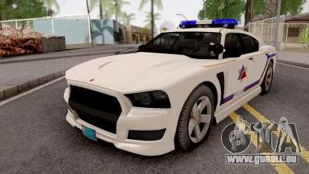 Bravado Buffalo 2013 Hometown PD Style pour GTA San Andreas