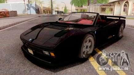 GTA V Grotti Cheetah Classic Spyder IVF für GTA San Andreas