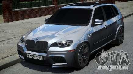 BMW X5M Grey pour GTA 4