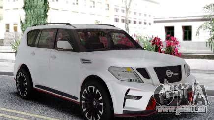 Nissan Patrol Nismo White Edition für GTA San Andreas