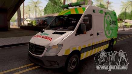 Mercedes-Benz Sprinter Ambulancia Argentina für GTA San Andreas